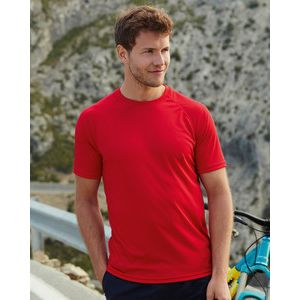 613900 Fruit of the Loom Performance T-shirt sportiva manica raglan 100% poliestere 140gr Thumbnail